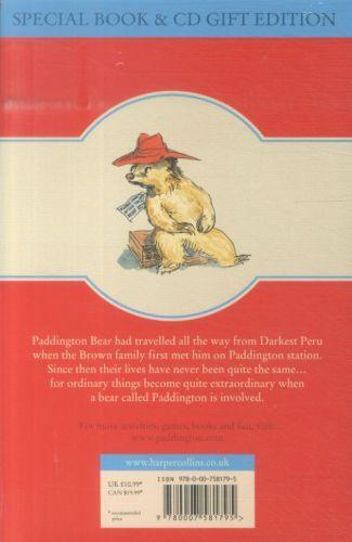 A BEAR CALLED PADDINGTON - BOOK AND CD UNABRIDGED