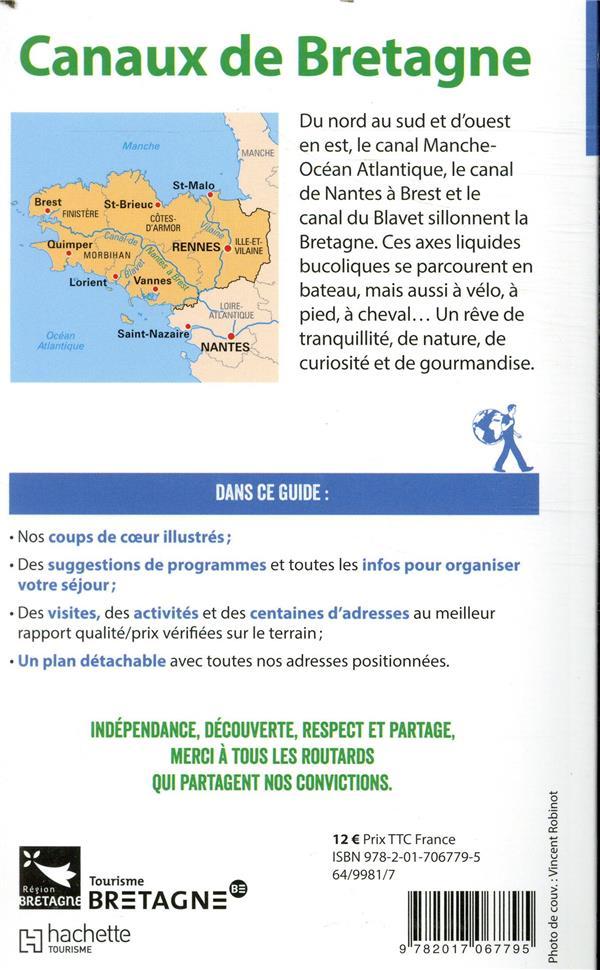 Guide du Routard ; canaux de Bretagne