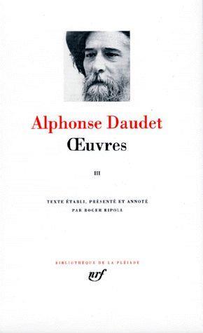 DAUDET, ALPHONSE - OEUVRES T.3