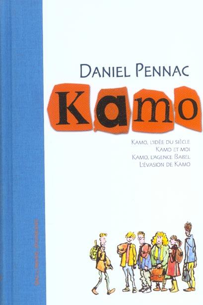 Kamo ; INTEGRALE T.1 A T.4