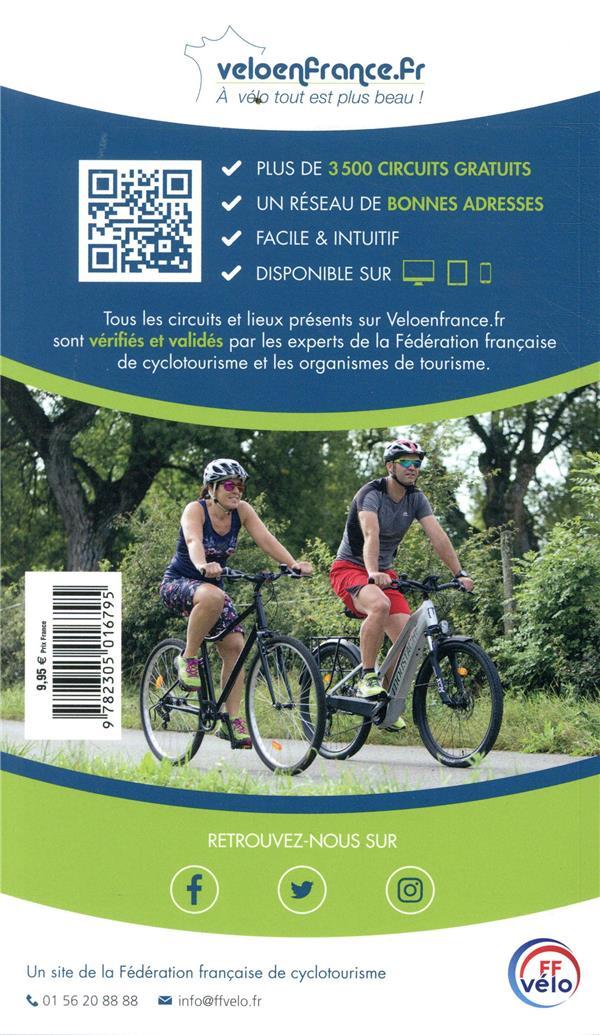 GUIDE PETIT FUTE ; THEMATIQUES ; balades à vélo en Bourgogne (édition 2019/2020)