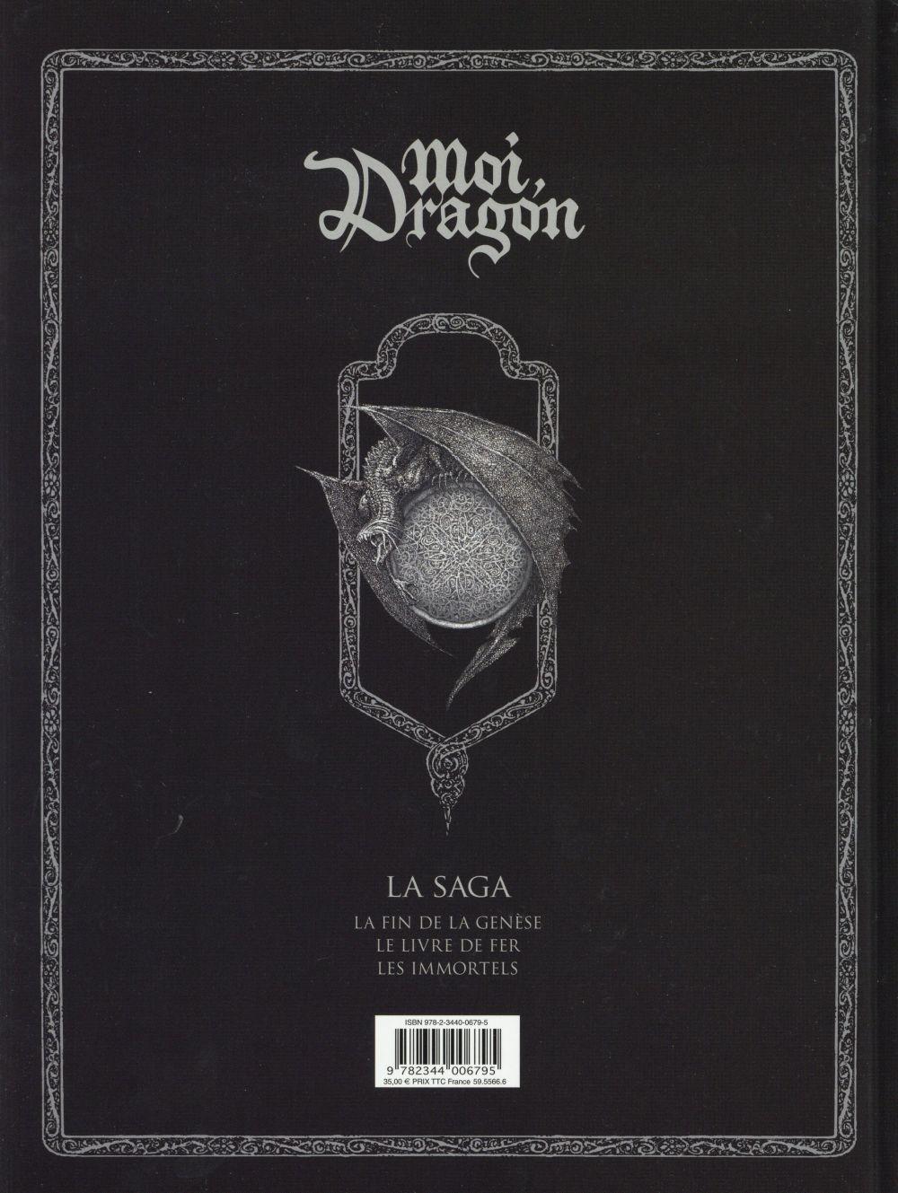 Moi, dragon ; la saga