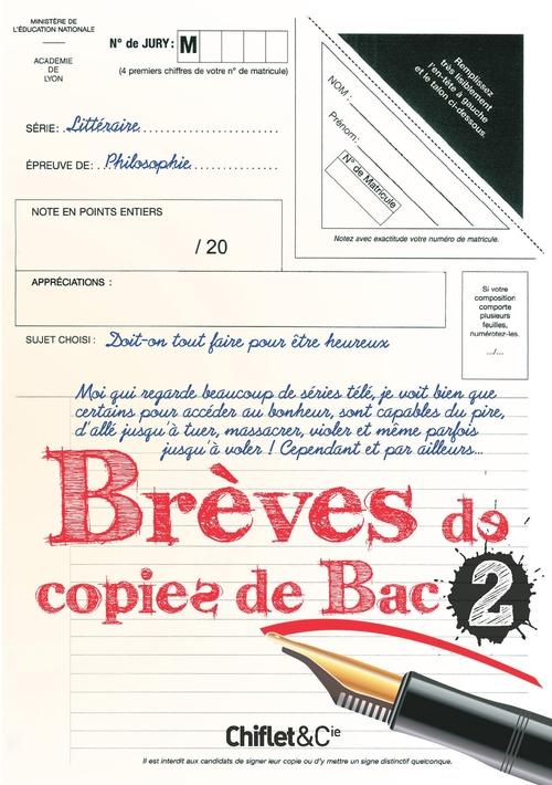 Brèves de copies de bac t.2