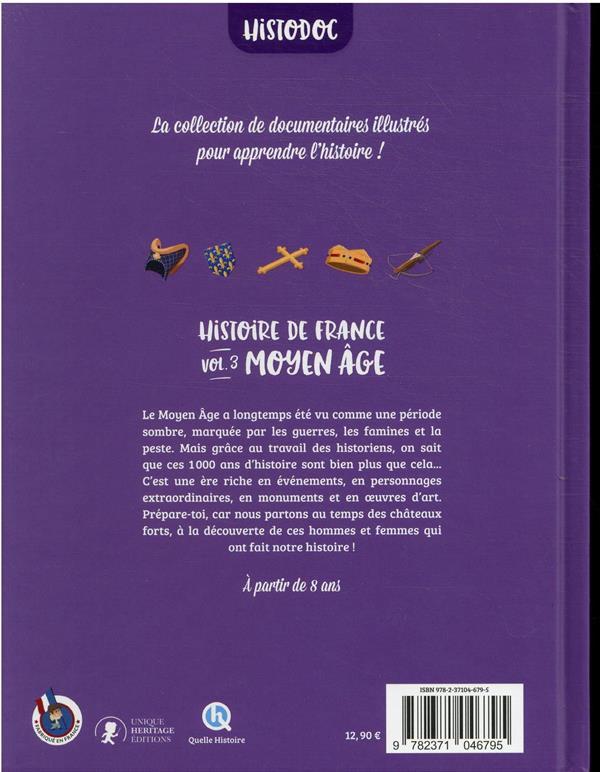 Histoire de France t.3 : Moyen Age