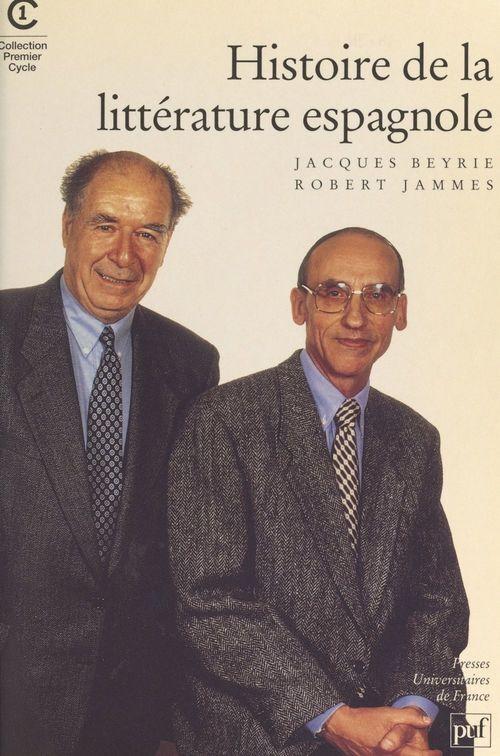 Histoire de la littérature espagnole d'expression castillane