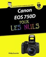 Vente EBooks : Canon EOS 750D pas à pas pour les nuls  - Philip ESCARTIN