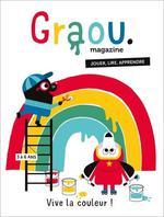 Couverture de Magazine graou n.16 ; vive la couleur !