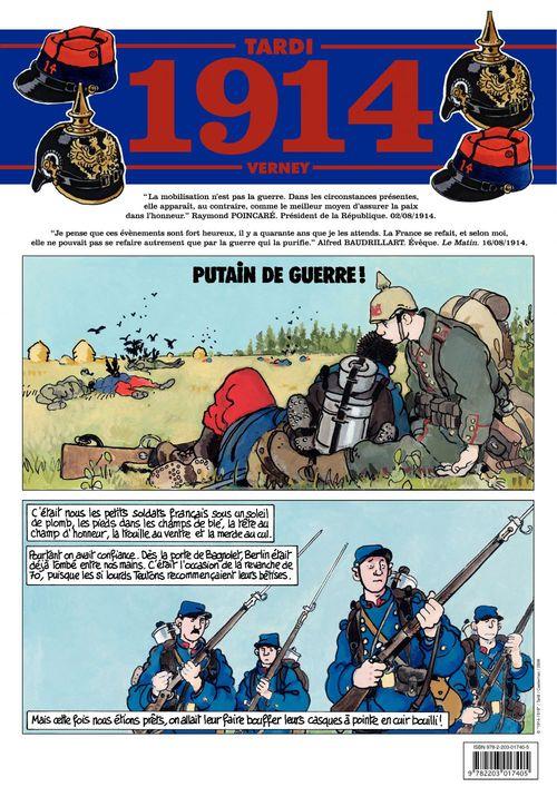 Journal de guerre t.1 ; 1914