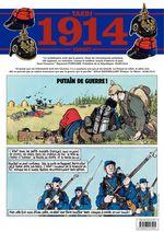 Journal de guerre - 1914  - Jacques Tardi - Jean-Pierre Verney