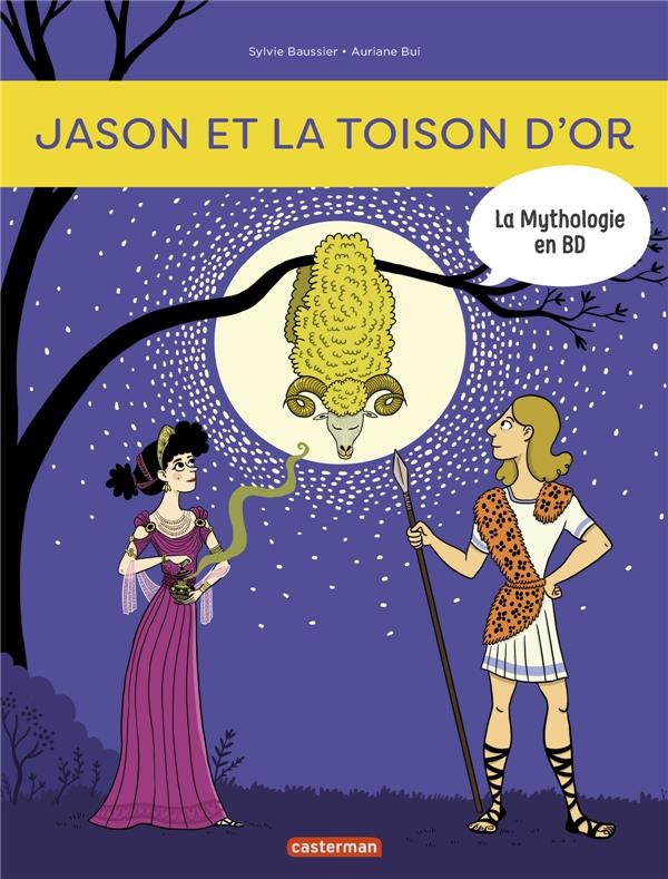 La mythologie en BD T.8 ; Jason et la toison d'or