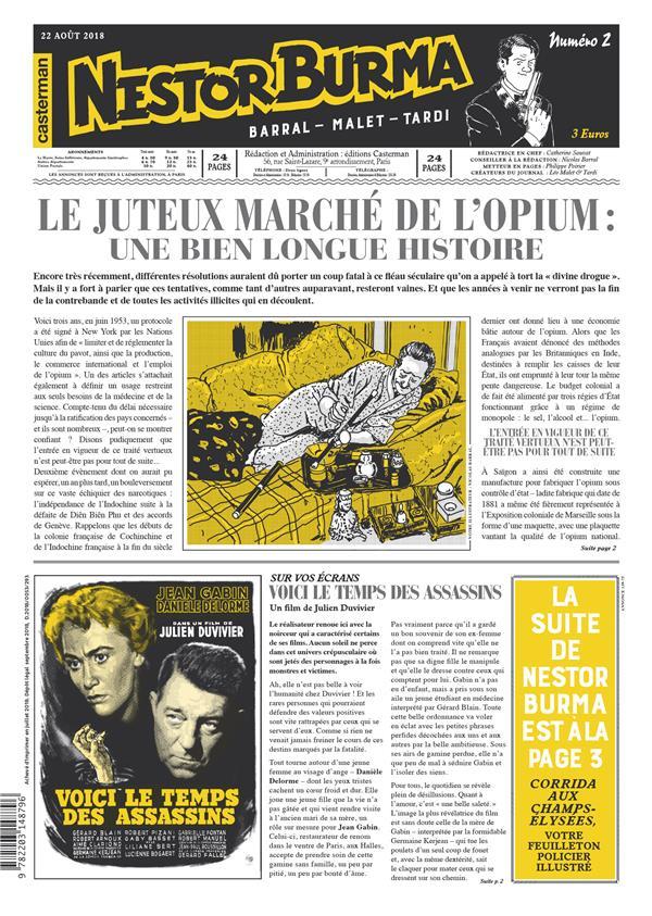 journal de Nestor Burma ; corrida aux Champs Elysées n.2