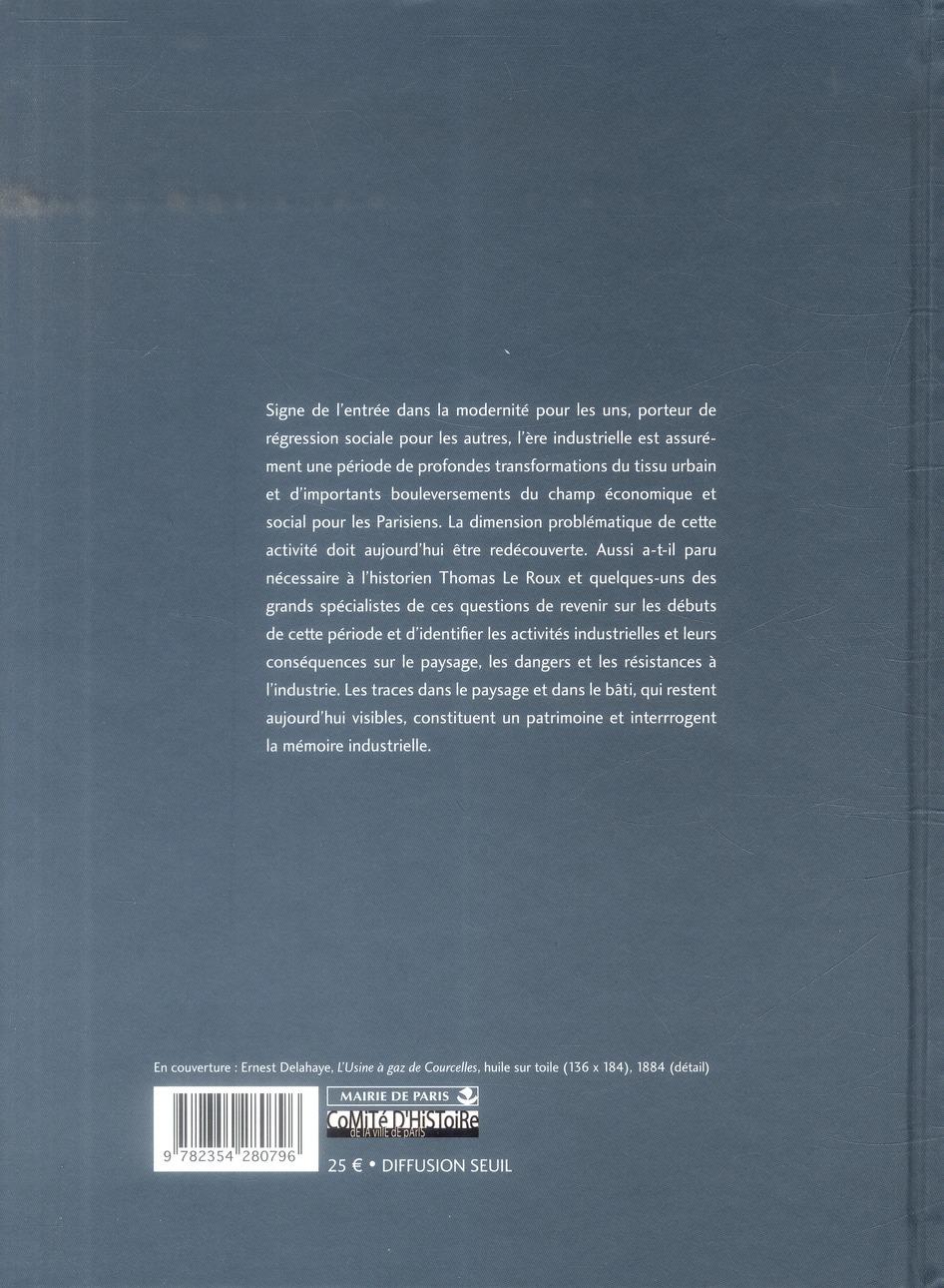 les Paris de l'industrie, 1750-1920