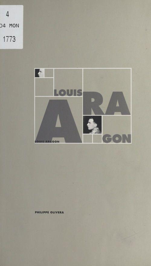 Louis aragon - livret