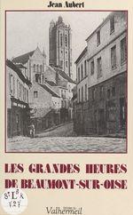 Les Grandes Heures de Beaumont-sur-Oise  - Jean Aubert