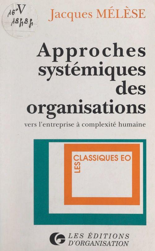 Approches systémiques des organisations