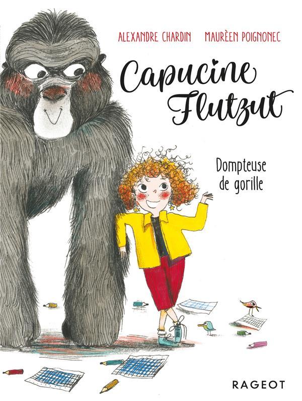 Capucine Flutzut ; dompteuse de gorille