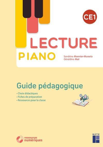 Lecture piano ; CE1 ; guide pédagogique (édition 2020)
