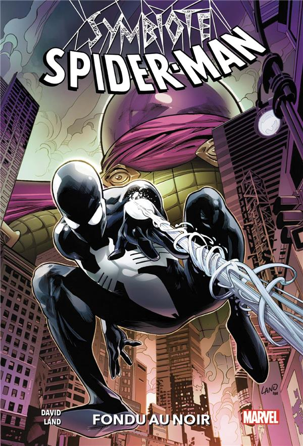 Symbiote Spider-Man ; fondu au noir