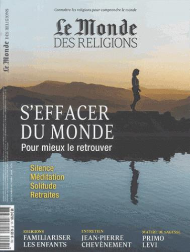 Le monde des religions ; septembre-octobre