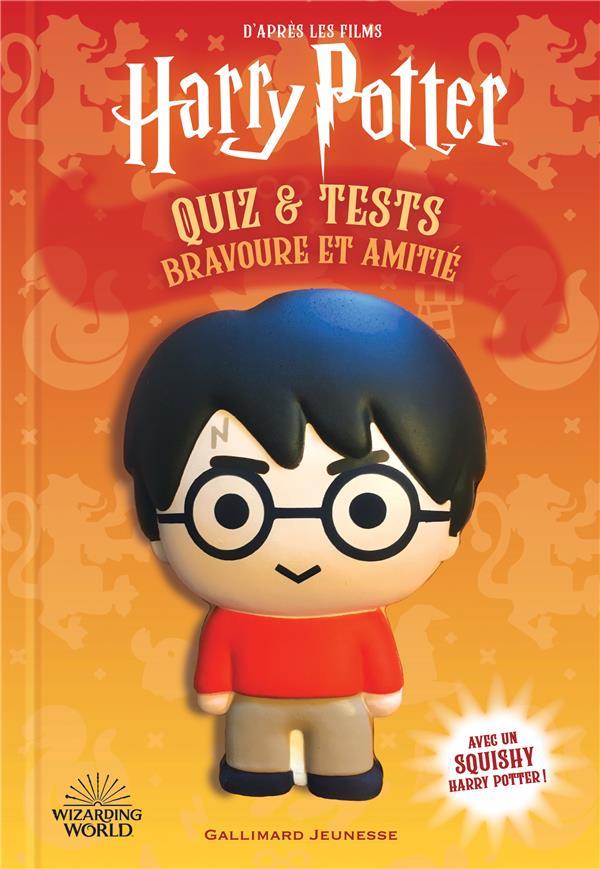 Harry Potter : quiz et tests ; bravoure et amitié (livre squishy)