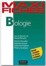 Vente Livre Numérique : Maxi fiches de Biologie  - Fabienne Pradere - Patrick Chevalet - Thierry Soubaya - Nathalie Giraud