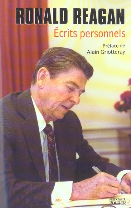 Ronald Reagan ; Ecrits Personnels