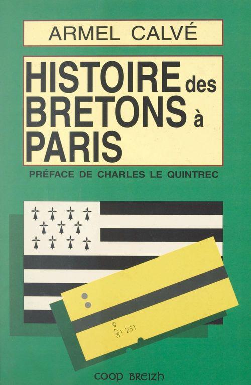 Histoire des Bretons à Paris