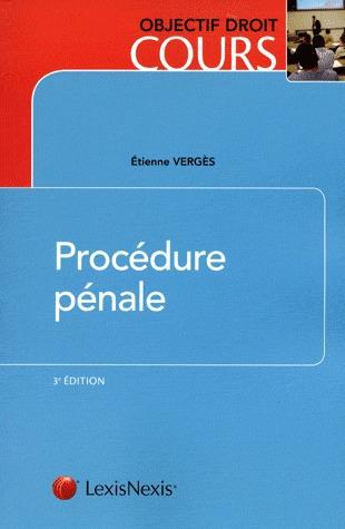 Procedure Penale (3e Edition)