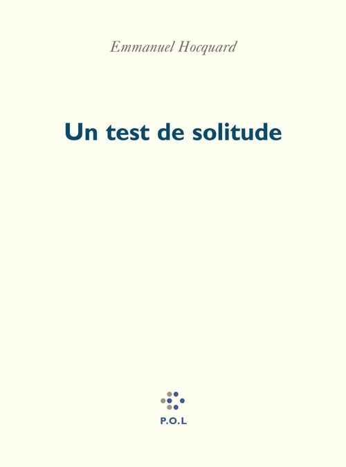 Un test de solitude