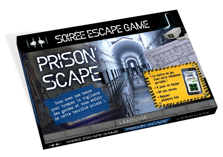 Escape game spécial prison'scape