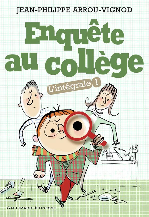 Enquête au collège ; Intégrale vol.1 ; t.1 à t.3