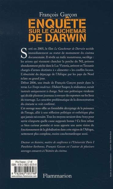 enquête sur le cauchemar de darwin