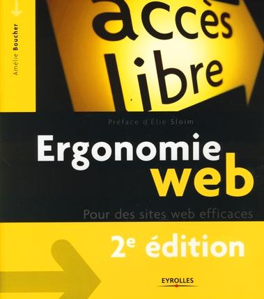 Ergonomie web ; pour des sites web efficaces (2e édition)