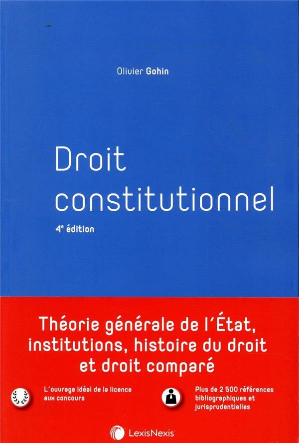 Droit constitutionnel (4e édition)