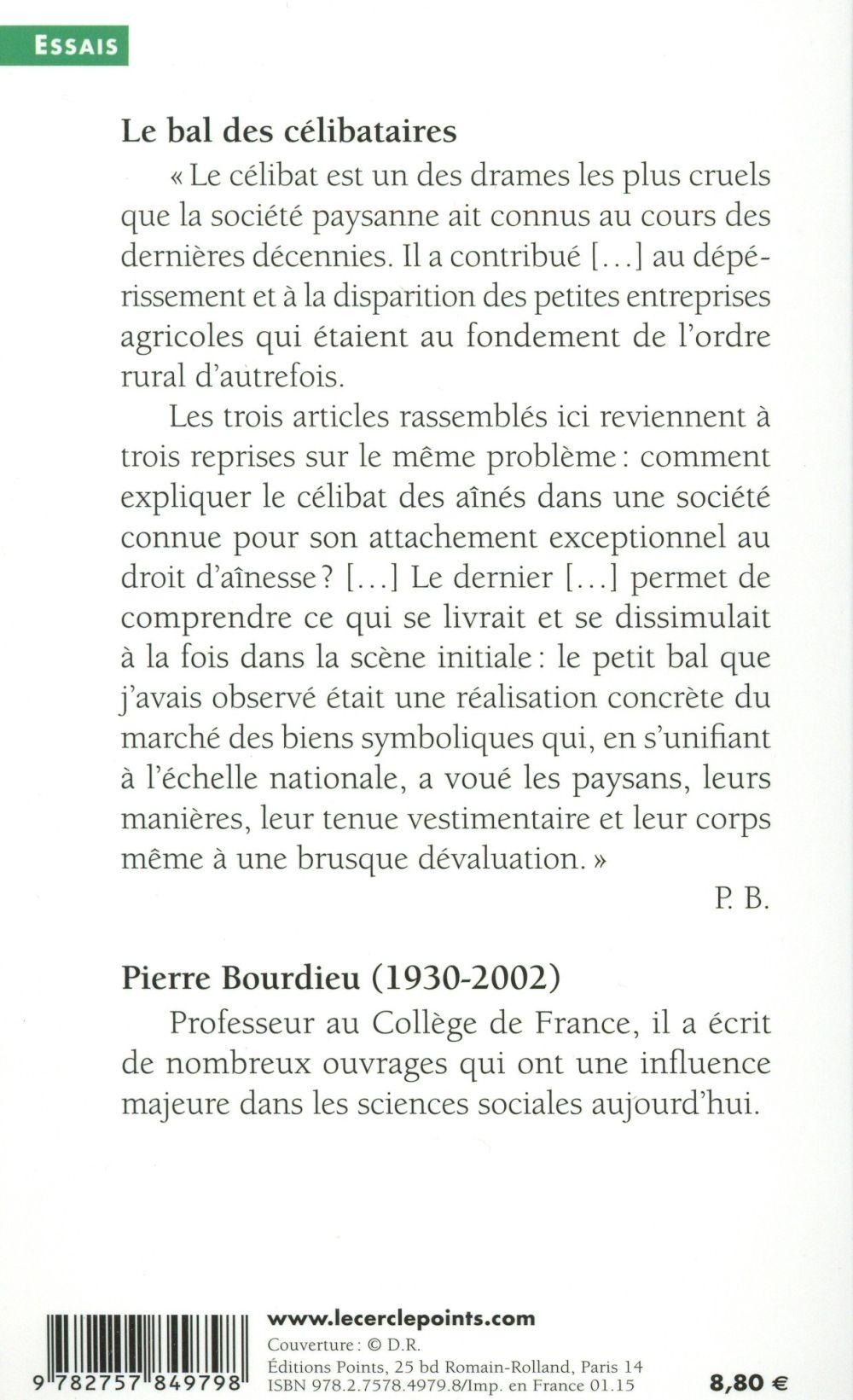 Le bal des célibataires ; crise de la société paysanne en Béarn