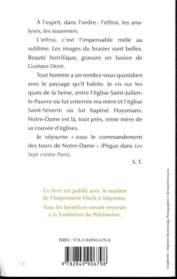Notre-Dame de Paris ; ô reine de douleur