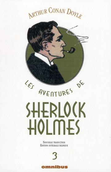 Les Aventures De Sherlock Holmes T.3