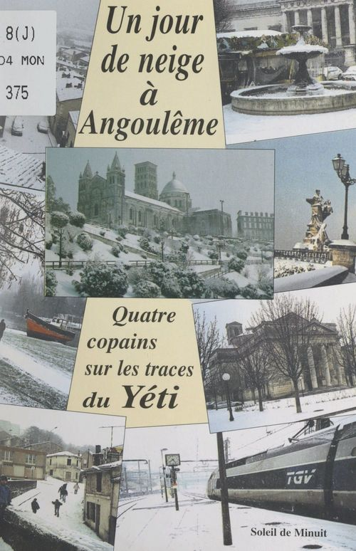 Un jour de neige à Angoulême