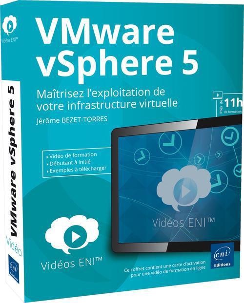 Video De Formation Vmware Vsphere 5 ; Maitrisez L'Exploitation De Votre Infrastructure Virtuelle
