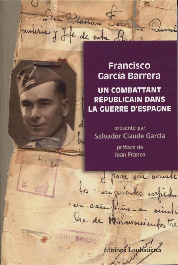 Un combattant républicain dans la guerre d'Espagne
