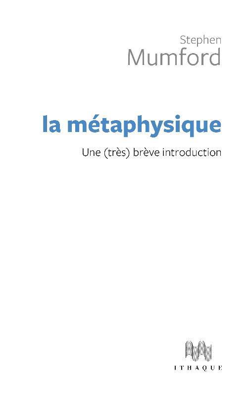 une brève introduction à la métaphysique