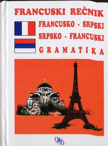 Vesna jeremenko dictionnaire francais-serbe serbe-francais