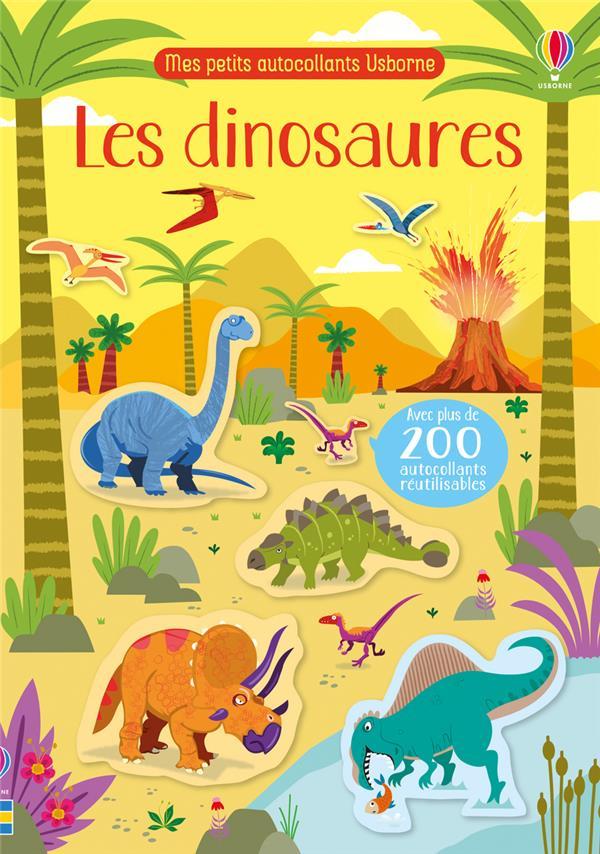 les dinosaures ; mes petits autocollants Usborne