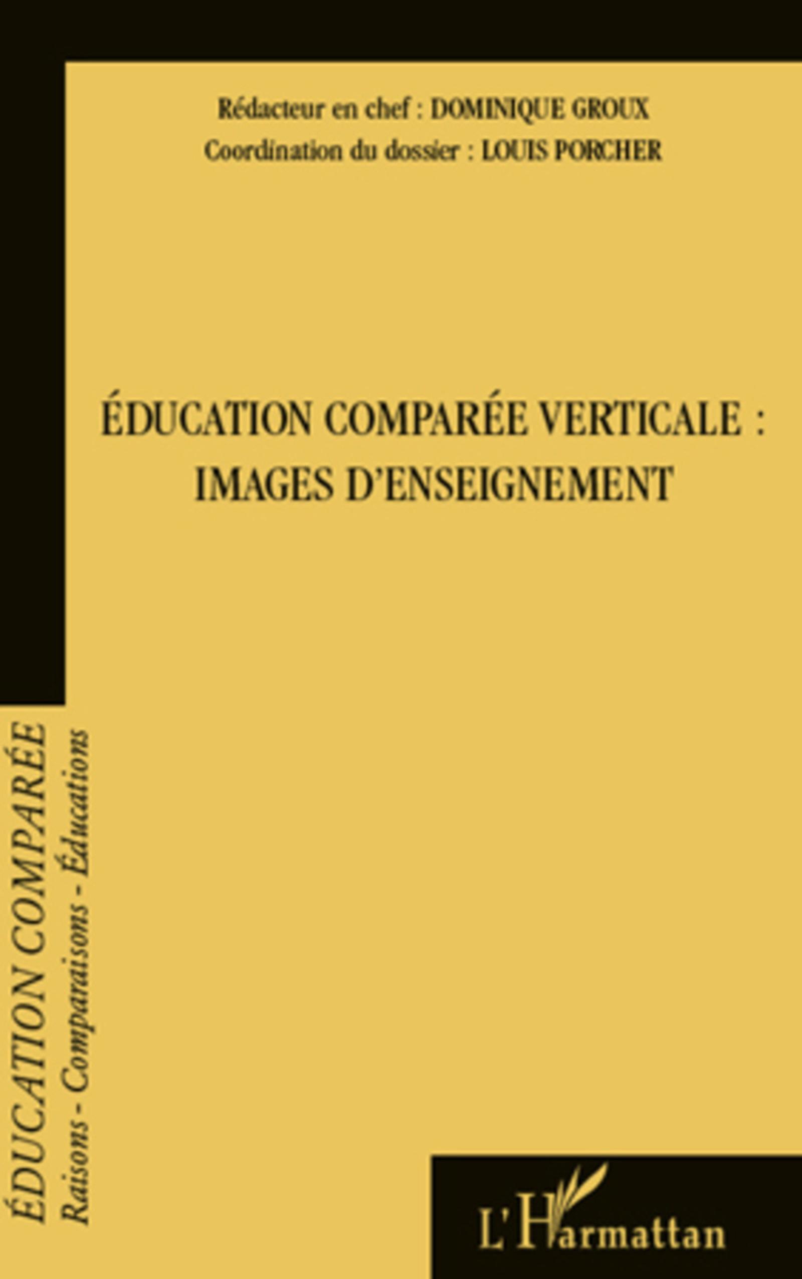 éducation comparée verticale ; images d'enseignement