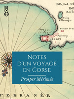 Vente Livre Numérique : Notes d'un voyage en Corse  - Prosper Mérimée