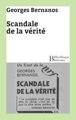 Vente Livre Numérique : Scandale de la vérité  - Georges Bernanos