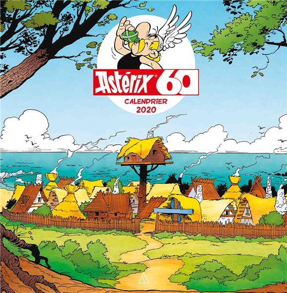 Astérix ; calendrier (édition 2020)