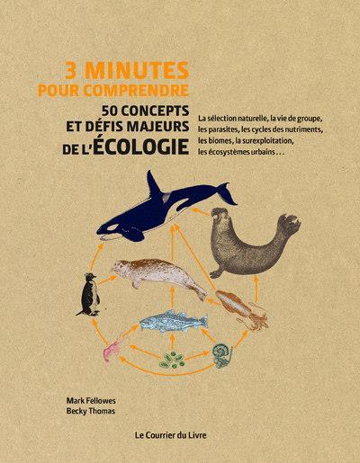 3 minutes pour comprendre ; 50 concepts et défis majeurs de l'écologie