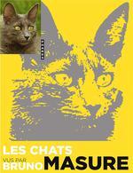 Couverture de Les chats vus par bruno masure