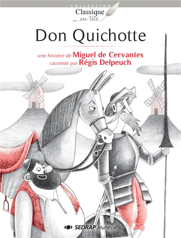 Don quichotte - lot de 15 romans + fichier